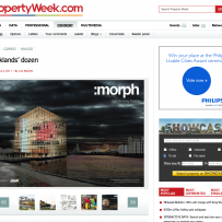 :morph featured on property week
