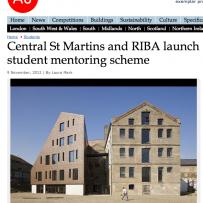RIBA Central Saint Martins Mentoring
